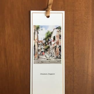 Chinatown Singapore bookmark