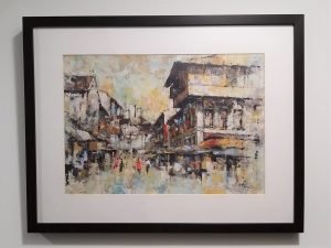 Chinatown Acrylic Art Frame